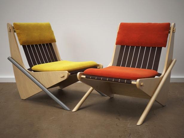 Boomerang chair 8