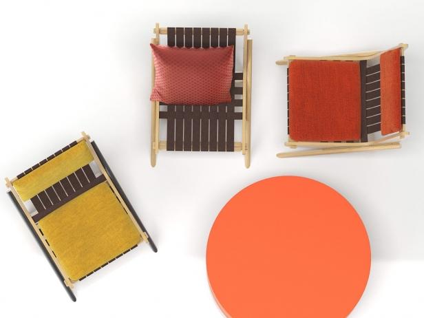 Boomerang chair 6