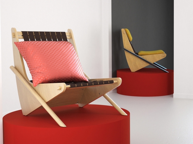 Boomerang chair 7