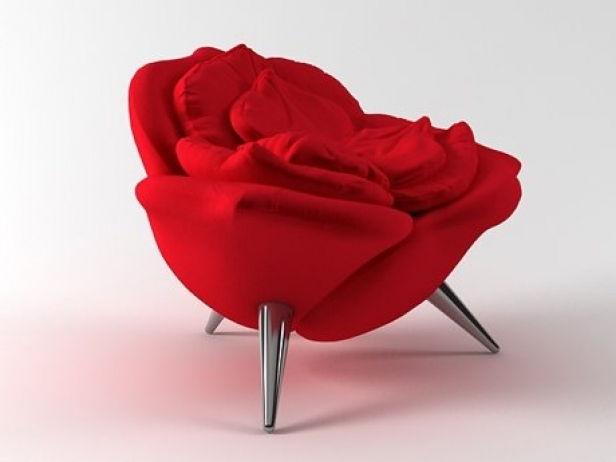 Rose Chair 3d Model Edra Italy