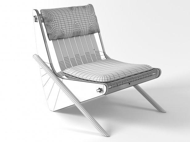 Boomerang chair 16