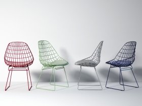 SM05 wire chair