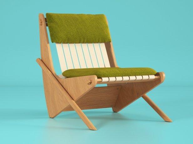Boomerang chair 14