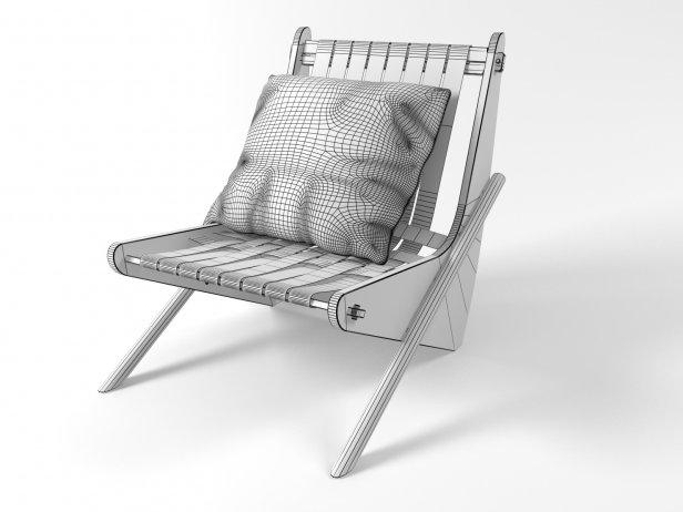 Boomerang chair 15