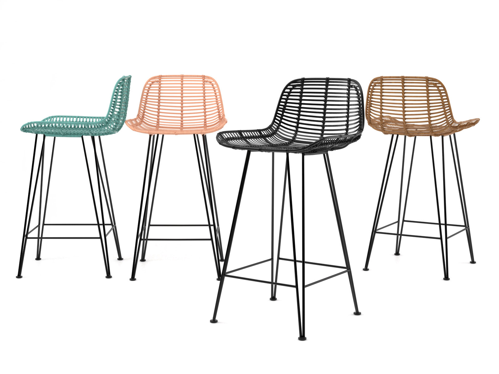 Rattan Barstool 3d model HK living : 7f717993f8991eb1060fd32449bd8c2b from www.designconnected.com size 1600 x 1200 jpeg 189kB