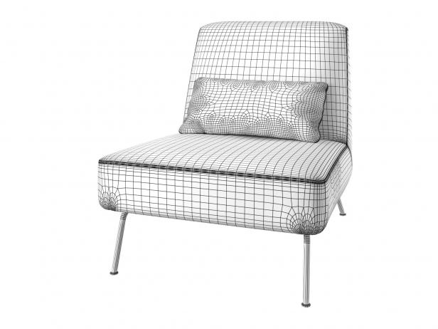 Humphrey Fireside Chair & Ottoman 6