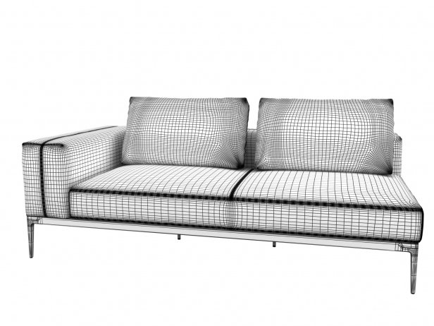Outdoor Single & Double Seating Element 8