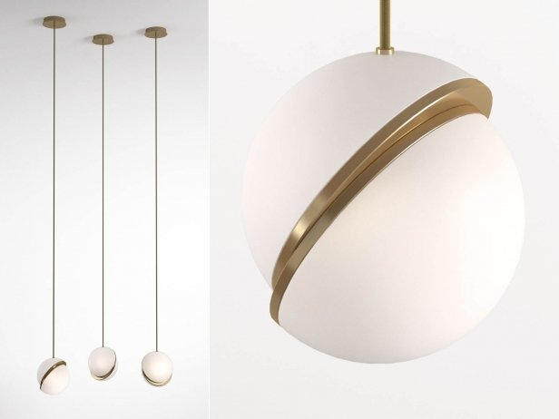 Crescent Pendant Light 4