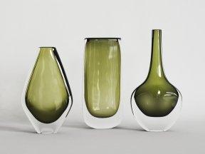 ORREFORS Dusk Vases
