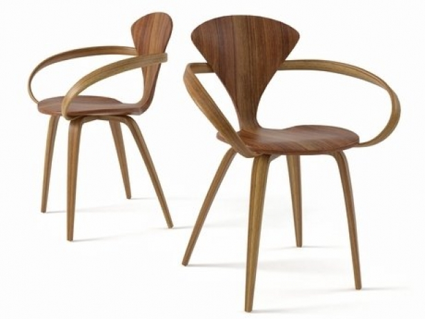 cherner armchair 3d model | the cherner chair company