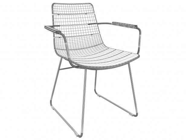 Outdoor Dining Armchair 4