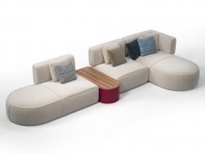 553 Bowy 24-70-10-51 Modular Sofa