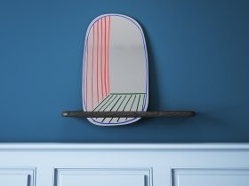 New Perspective Mirror + Shelf