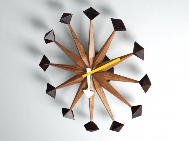 Polygon Clock Nelson 3d Model Vitra Switzerland