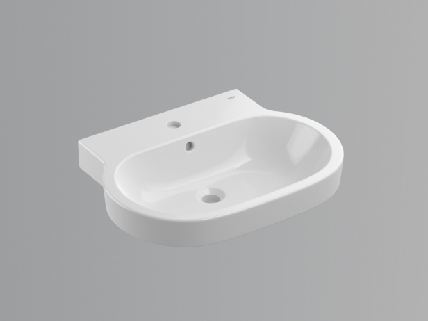 Eurocosmo Countertop Basin 60 Set 5