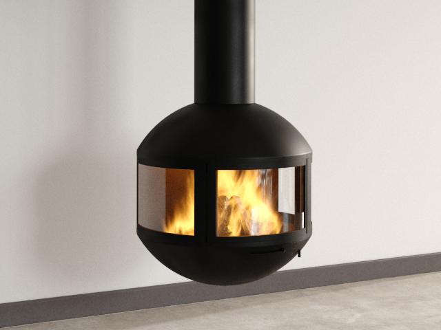 Edofocus 631 DV Fireplace 3