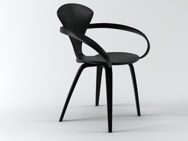 cherner armchair 3d model the cherner chair company