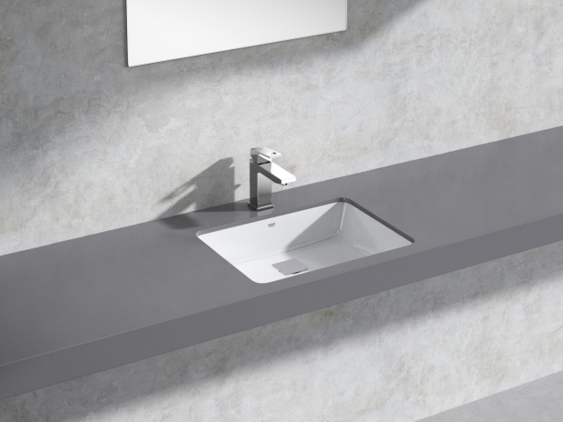 Cube Under Counter Basin 50 Set 3d Model Grohe Germany