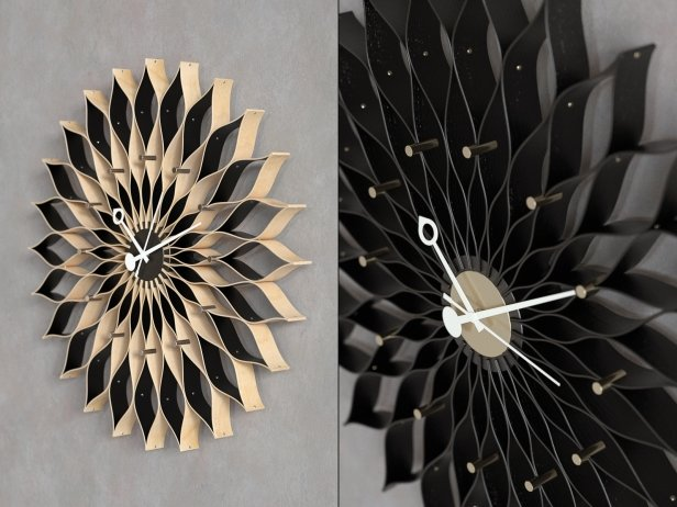 Sunflower Clock 2