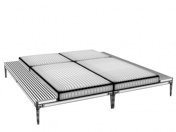 Poolside Double Lounger 5