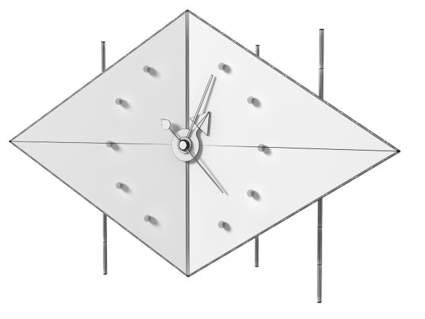 Diamond Clock 4