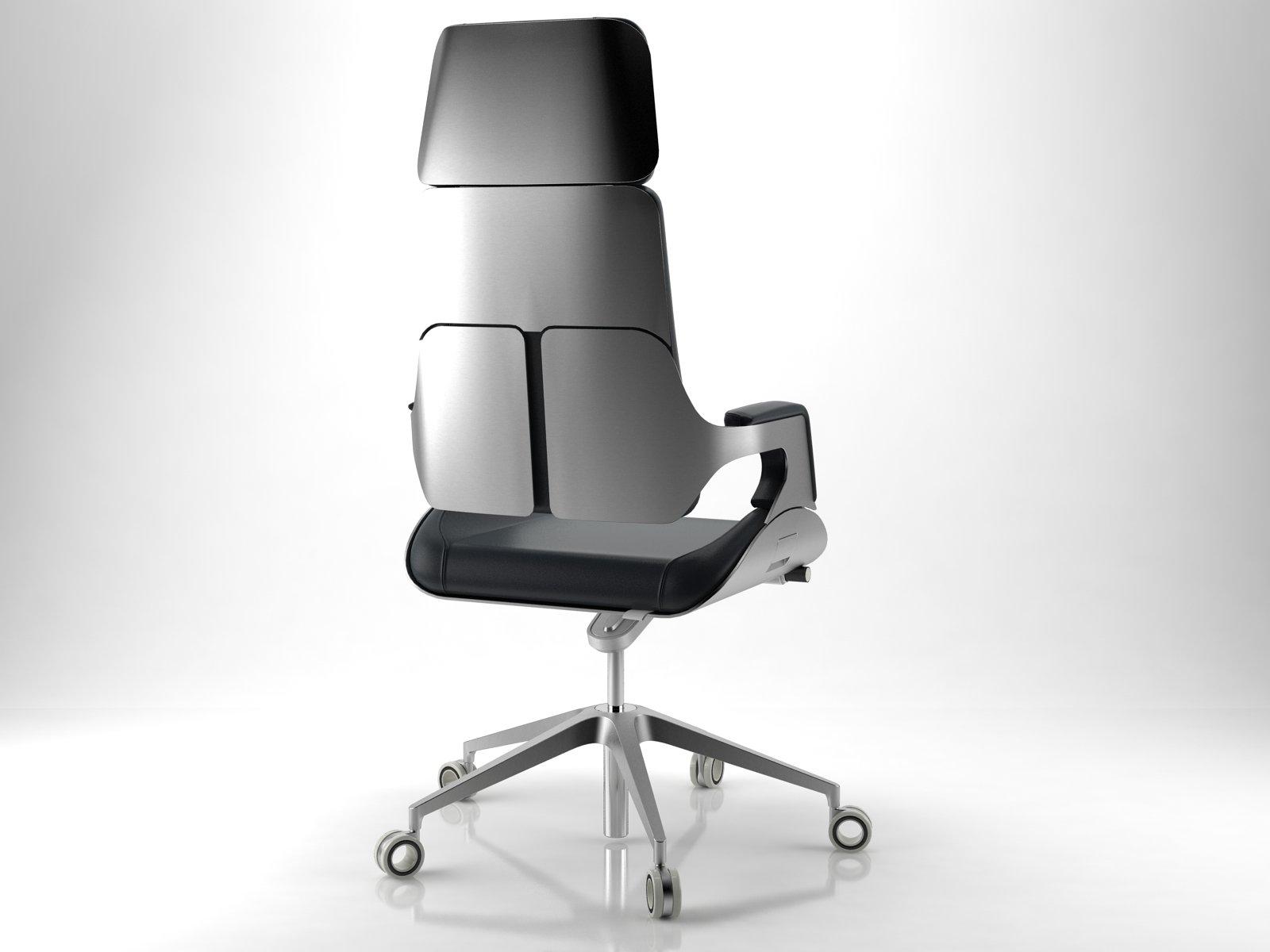 silver 362s 3d model interstuhl b rom bel. Black Bedroom Furniture Sets. Home Design Ideas