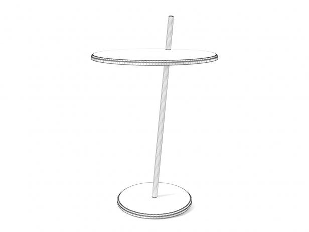 Good Evening Pedestal Table 3