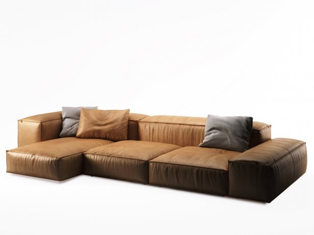 Living divani sofa extrasoft for Italienische couch
