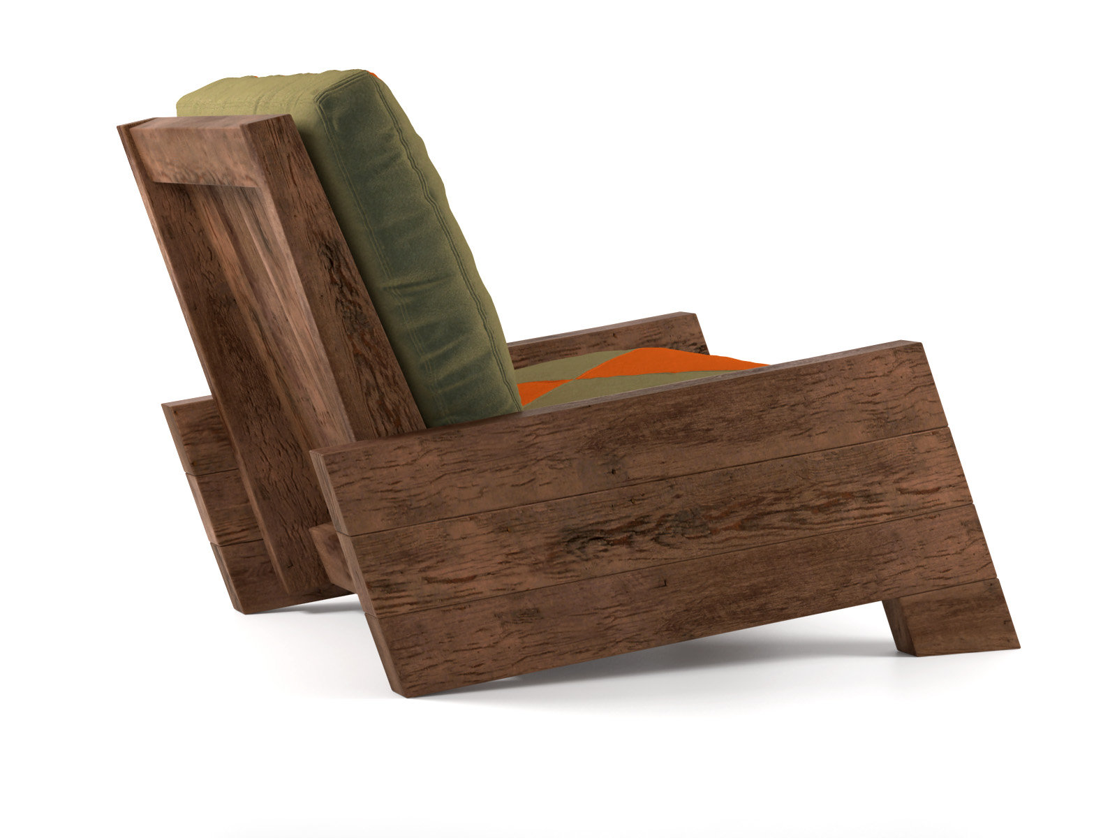 Asturias armchair 3d model carlos motta for Carlos motta designer