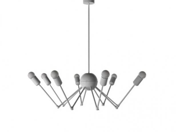 Octopus single chandelier 3d model autoban octopus single chandelier 2 mozeypictures Image collections
