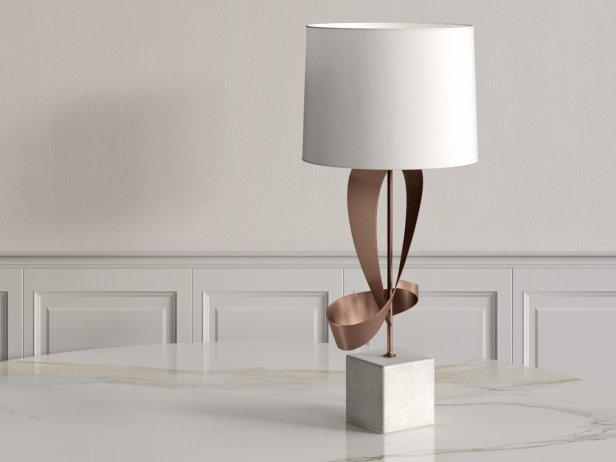 Dean Sculptural Table Lamp 2