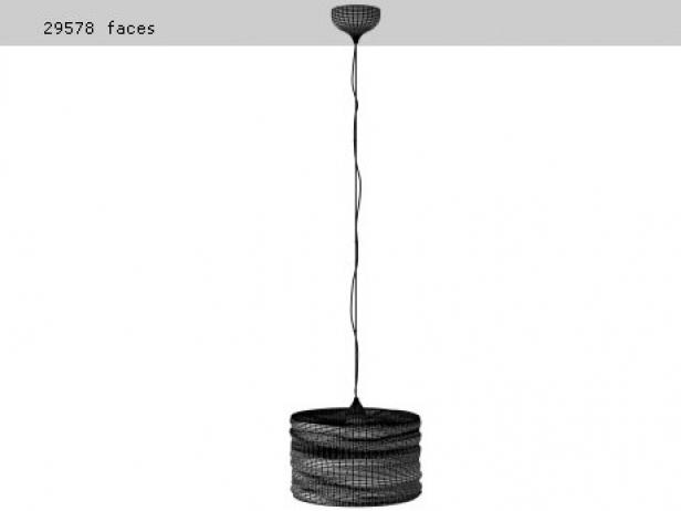 Aqua Cil Suspension Lamp 4
