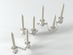 The More, The Merrier Candlestick