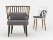 Nub BU1440 Easy Chair 16