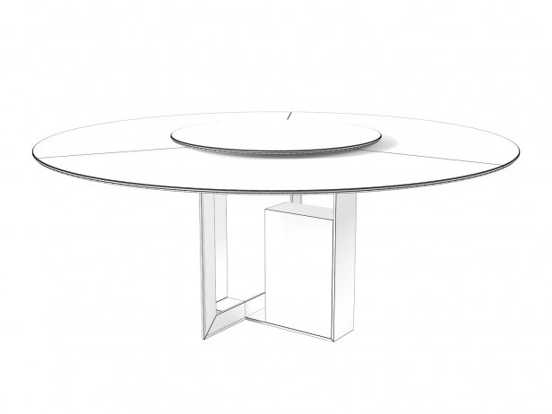 Moore Round Dining Tables 6
