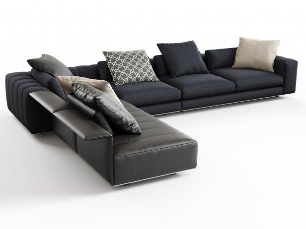 Freeman Corner Sofa System B 1