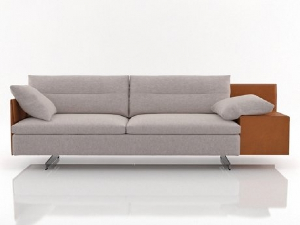 GranTorino 2 seater sofa 3d model   Poltrona Frau