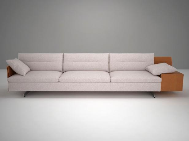 Grantorino 3 Seater Sofa 3d Model Poltrona Frau Italy