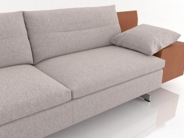 grantorino 3 seater sofa 3d modell poltrona frau. Black Bedroom Furniture Sets. Home Design Ideas