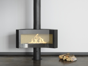 Curvifocus Gas Fireplace
