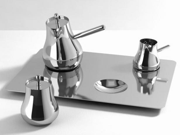 Float Tea Set 3d Model Christofle
