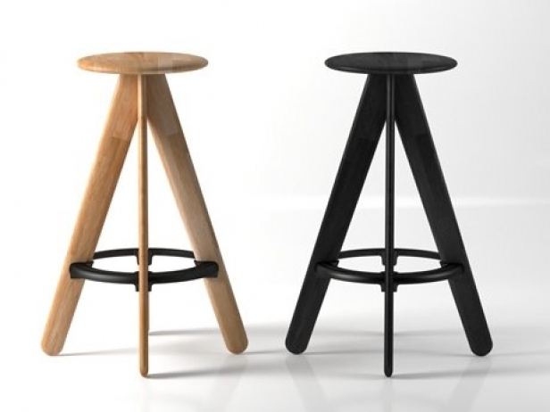 Terrific Slab Barstool Gmtry Best Dining Table And Chair Ideas Images Gmtryco