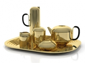 Eclectic Form Tea Set