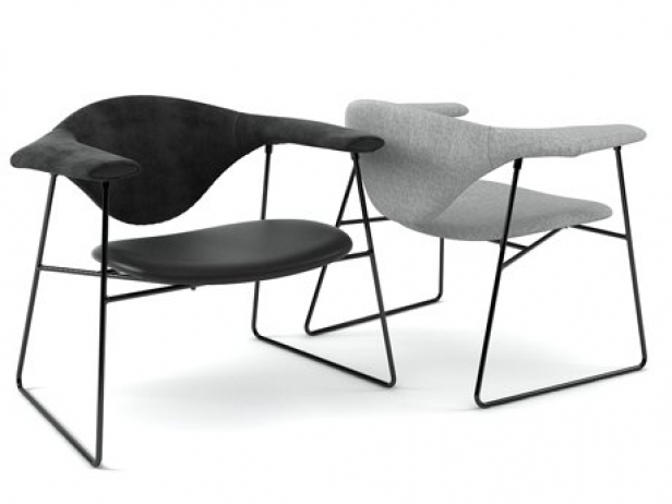 Masculo Lounge Chair 1