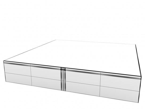 Elliott Large Square Table 9