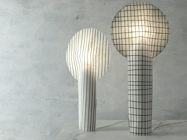 paper lamps 3d model ligne roset. Black Bedroom Furniture Sets. Home Design Ideas