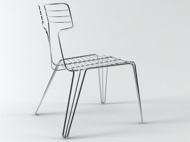 Wire Chair 1