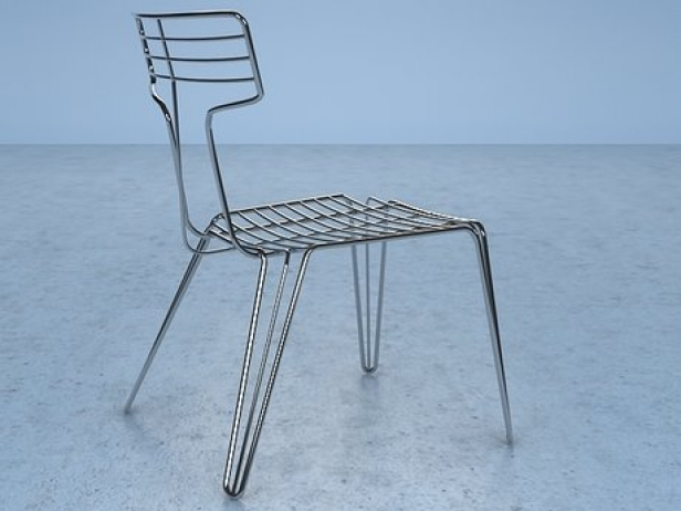 Wire Chair 4