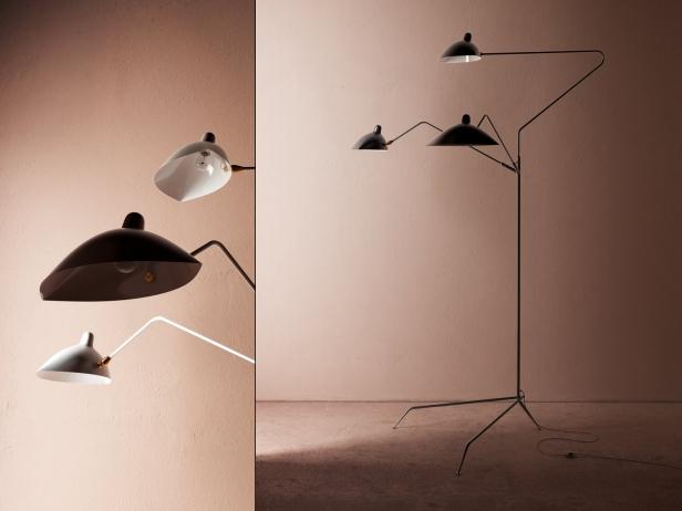 three arm floor lamp 3. Black Bedroom Furniture Sets. Home Design Ideas