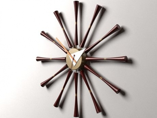 Spindle Clock 2